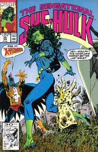Cover Thumbnail for The Sensational She-Hulk (Marvel, 1989 series) #35