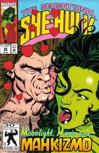 Cover Thumbnail for The Sensational She-Hulk (Marvel, 1989 series) #38