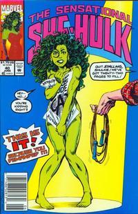 Cover Thumbnail for The Sensational She-Hulk (Marvel, 1989 series) #40 [newsstand]