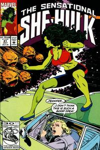 Cover Thumbnail for The Sensational She-Hulk (Marvel, 1989 series) #41