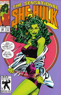 Cover Thumbnail for The Sensational She-Hulk (Marvel, 1989 series) #43 [Direct Edition]