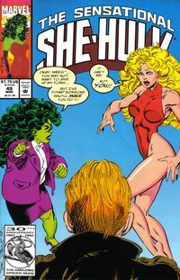 Cover Thumbnail for The Sensational She-Hulk (Marvel, 1989 series) #49 [direct]