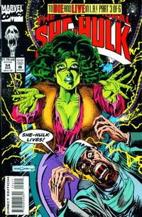 Cover Thumbnail for The Sensational She-Hulk (Marvel, 1989 series) #54
