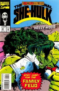 Cover for The Sensational She-Hulk (Marvel, 1989 series) #57