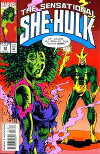 Cover Thumbnail for The Sensational She-Hulk (Marvel, 1989 series) #58