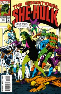 Cover for The Sensational She-Hulk (Marvel, 1989 series) #59