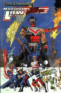 Cover Thumbnail for Crime and Punishment Marshal Law Takes Manhattan (Marvel, 1989 series)