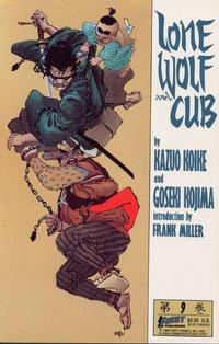 Cover Thumbnail for Lone Wolf and Cub (First, 1987 series) #9