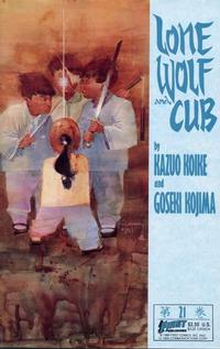 Cover Thumbnail for Lone Wolf and Cub (First, 1987 series) #21