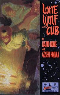 Cover Thumbnail for Lone Wolf and Cub (First, 1987 series) #22