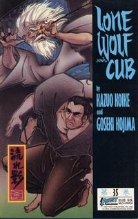Cover Thumbnail for Lone Wolf and Cub (First, 1987 series) #35