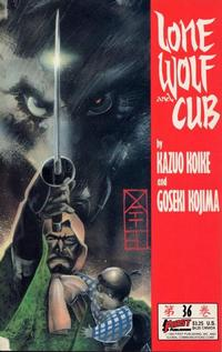 Cover Thumbnail for Lone Wolf and Cub (First, 1987 series) #36