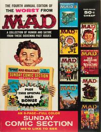 Cover Thumbnail for The Worst from MAD (EC, 1958 series) #4