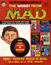 Cover Thumbnail for The Worst from MAD (EC, 1958 series) #5