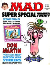 Cover Thumbnail for MAD Special [MAD Super Special] (EC, 1970 series) #20