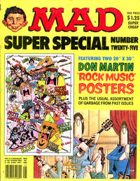 Cover Thumbnail for MAD Special [MAD Super Special] (EC, 1970 series) #25