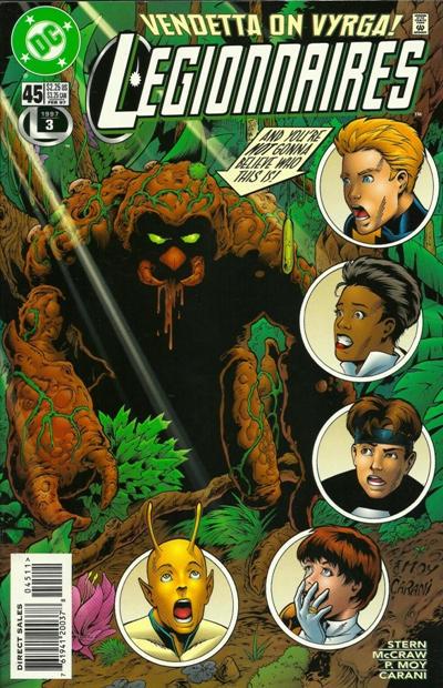 Cover for Legionnaires (DC, 1993 series) #45