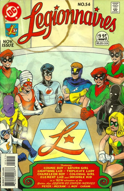 Cover for Legionnaires (DC, 1993 series) #54