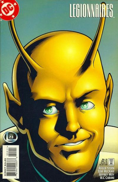 Cover for Legionnaires (DC, 1993 series) #55