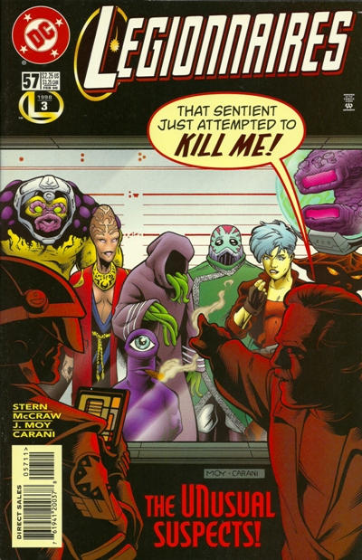 Cover for Legionnaires (DC, 1993 series) #57