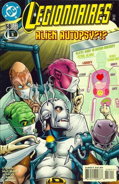 Cover for Legionnaires (DC, 1993 series) #58
