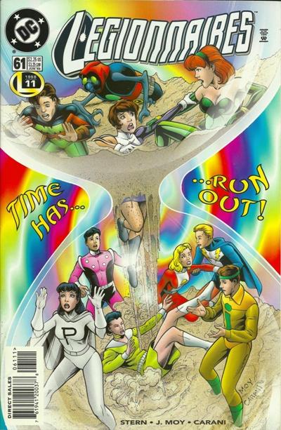 Cover for Legionnaires (DC, 1993 series) #61