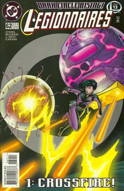 Cover for Legionnaires (DC, 1993 series) #62