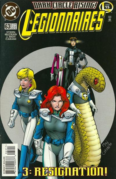 Cover for Legionnaires (DC, 1993 series) #63