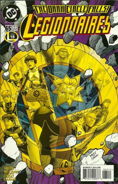 Cover for Legionnaires (DC, 1993 series) #65