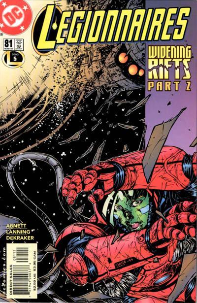 Cover for Legionnaires (DC, 1993 series) #81