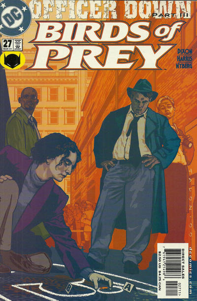 Cover for Birds of Prey (DC, 1999 series) #27