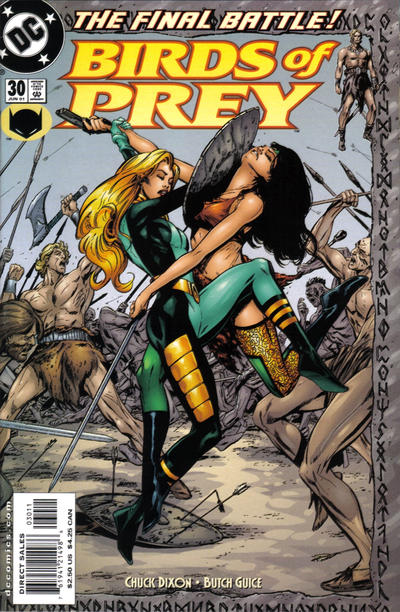 Cover for Birds of Prey (DC, 1999 series) #30