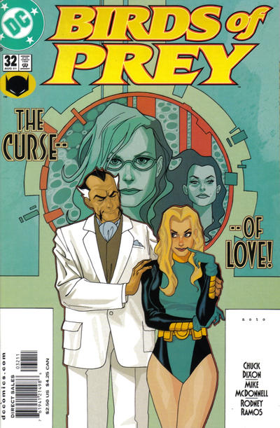 Cover for Birds of Prey (DC, 1999 series) #32