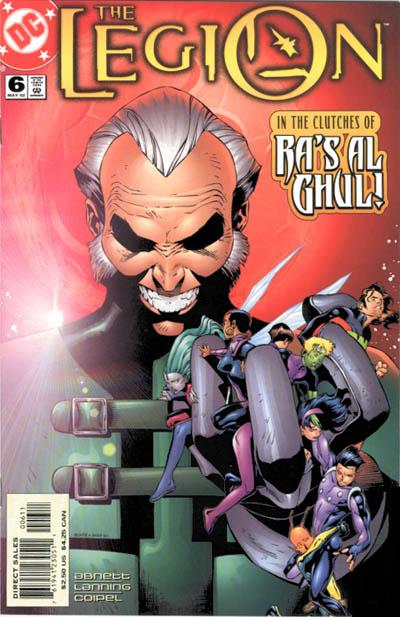 Cover for The Legion (DC, 2001 series) #6