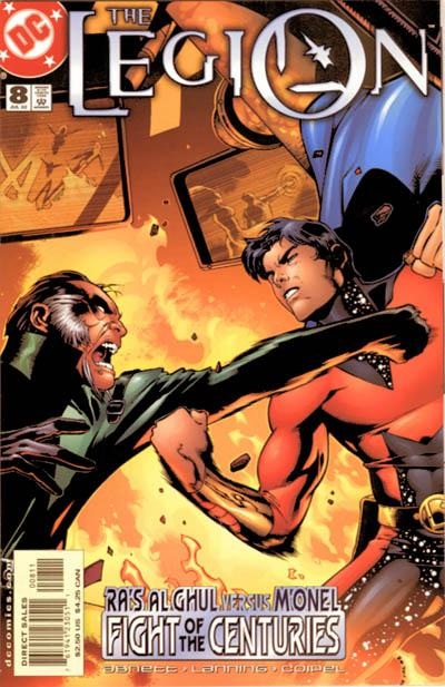 Cover for The Legion (DC, 2001 series) #8
