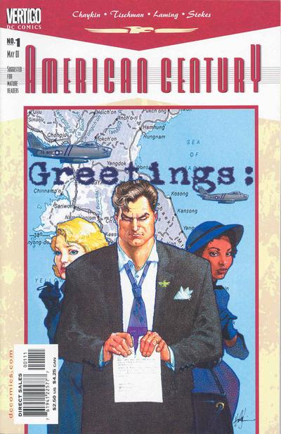 Cover for American Century (DC, 2001 series) #1