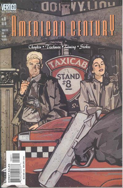 Cover for American Century (DC, 2001 series) #8
