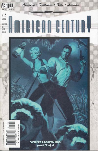 Cover for American Century (DC, 2001 series) #12
