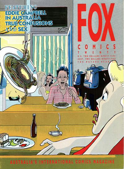 Cover for Fox Comics (Fox Comics, 1984 series) #20