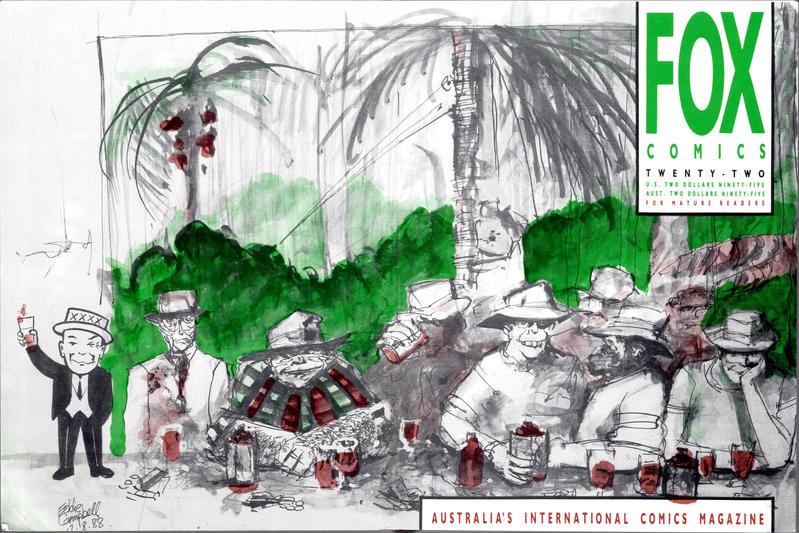 Cover for Fox Comics (Fox Comics, 1984 series) #22