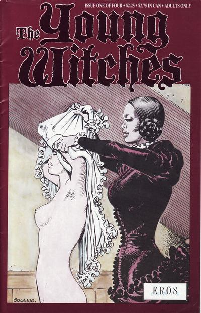 Cover for Young Witches (Fantagraphics, 1991 series) #1