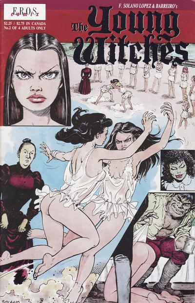Cover for Young Witches (Fantagraphics, 1991 series) #2