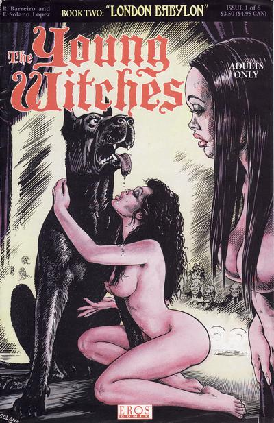 Cover for Young Witches: London Babylon (Fantagraphics, 1995 series) #1