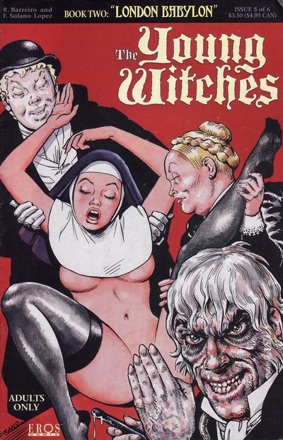 Cover for Young Witches: London Babylon (Fantagraphics, 1995 series) #5