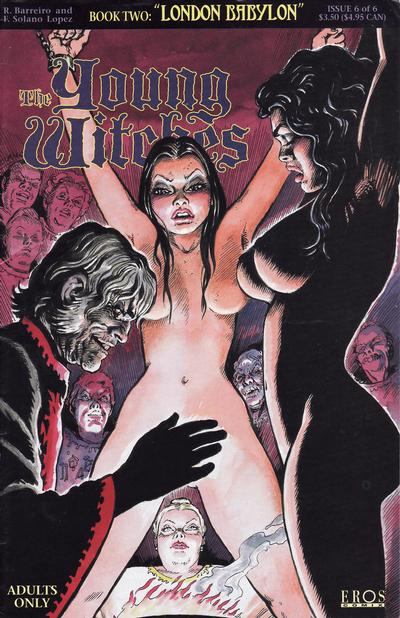 Cover for Young Witches: London Babylon (Fantagraphics, 1995 series) #6
