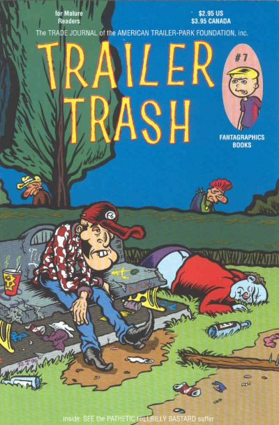 Cover for Trailer Trash (Fantagraphics, 1996 series) #7