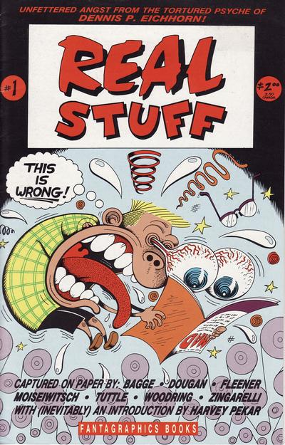 Cover for Real Stuff (Fantagraphics, 1990 series) #1