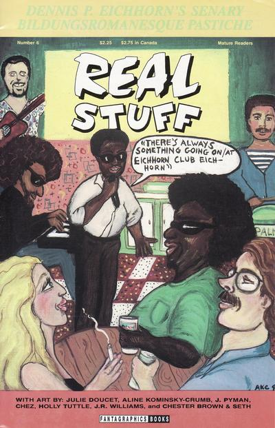 Cover for Real Stuff (Fantagraphics, 1990 series) #6
