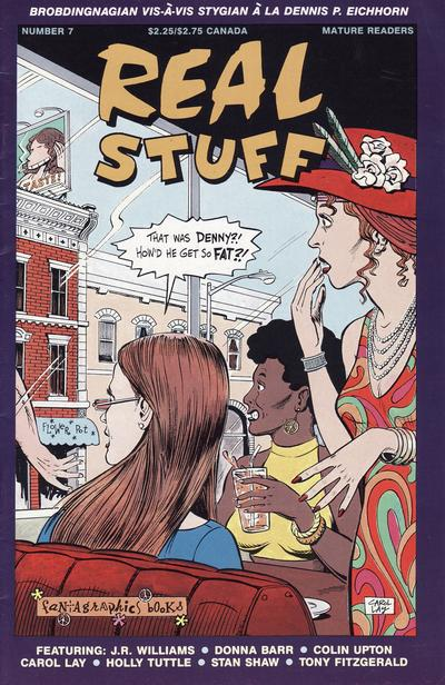 Cover for Real Stuff (Fantagraphics, 1990 series) #7