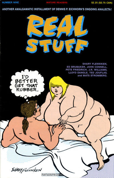 Cover for Real Stuff (Fantagraphics, 1990 series) #9